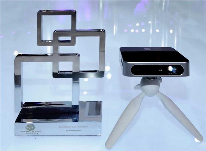 zte mwc2015 smart projector