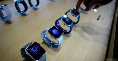 Apple Watch  exhibicion
