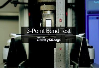 Galaxy S6 Edge prueba resistencia