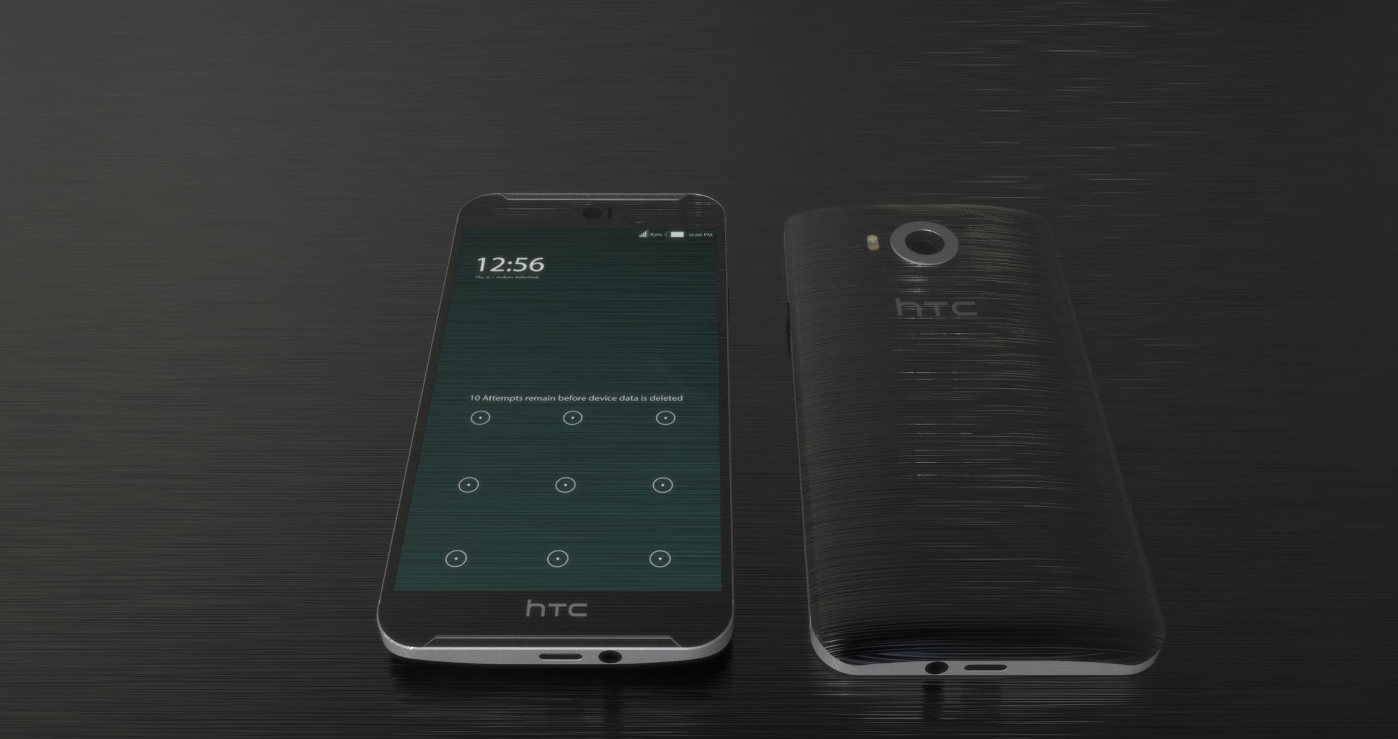 Render conceptual del HTC One M10