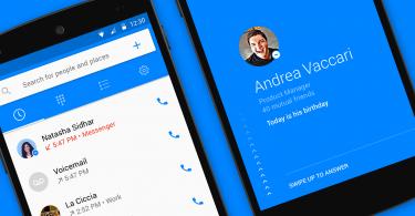 Facebook lanza su propio dialer para Android, Hello