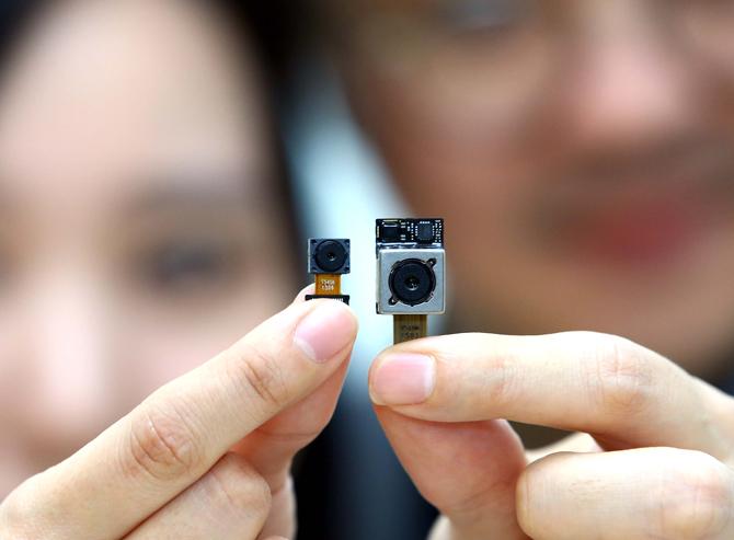 Módulos de cámara del LG G4