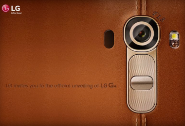 Cubierta trasera de piel del LG G4