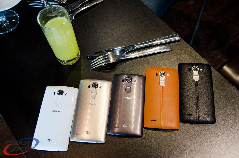 LG G4 en su variedad de presentaciones