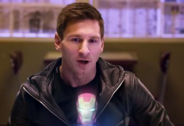 Messi es el elegido para ocupar el lugar de Iron Man
