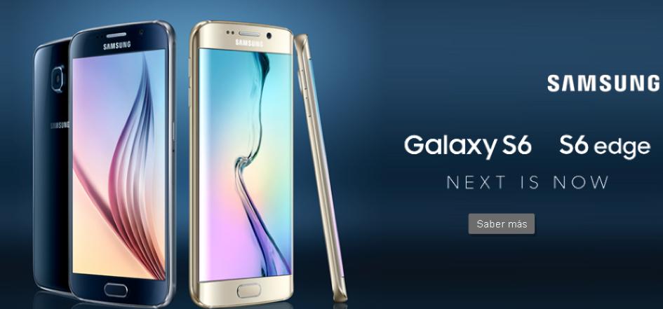 Nextel Samsung Galaxy s6 y s6 edge