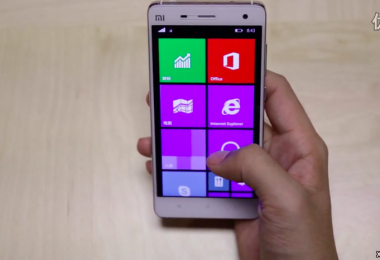 Xiaomi Mi 4 windows10