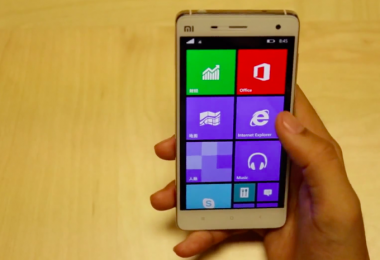 Xiaomi Mi4 windows phone 10