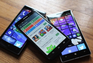 Sistemas operativos Android y Windows Phone