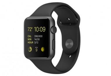 El modelo mejor vendido, Apple Watch Sport en Space Grey y correa en negro