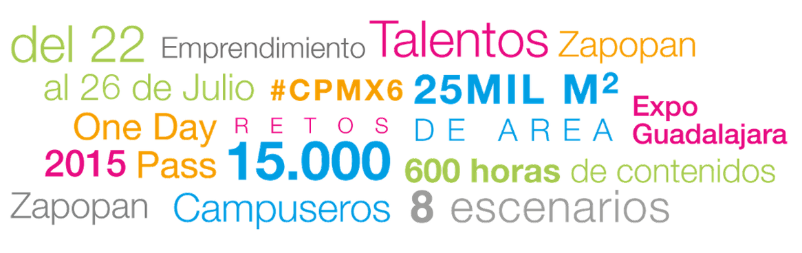 Campus Party México 2015 se llevará a cabo del 22 al 26 de julio