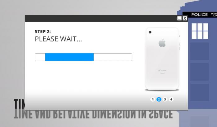 Este paso puede durar unos minutos