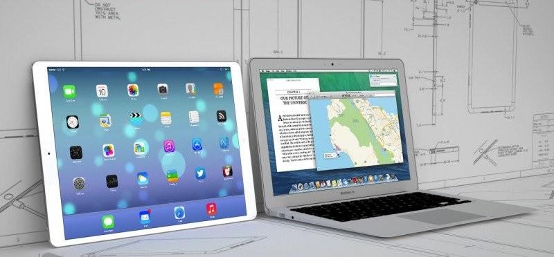 Concepto del iPad Pro. Foto: MacRumors.