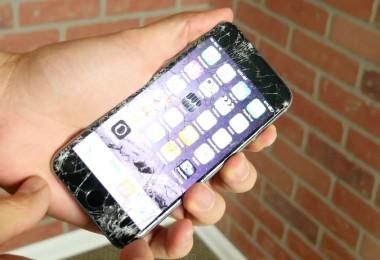 iphone 6 contra cemento