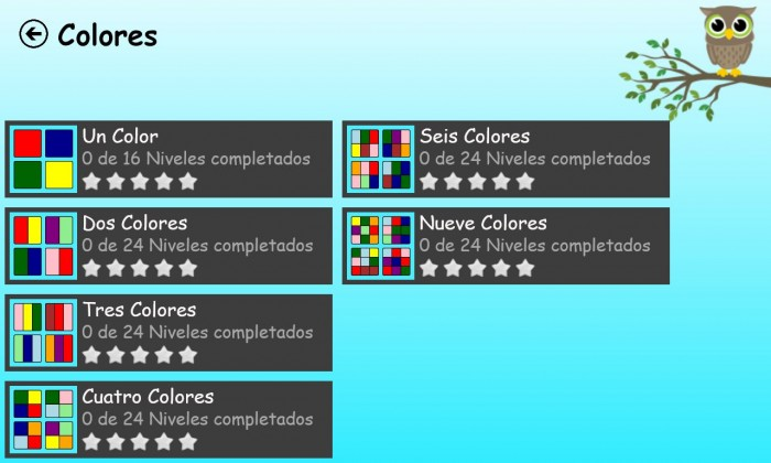 kids play and learn colores