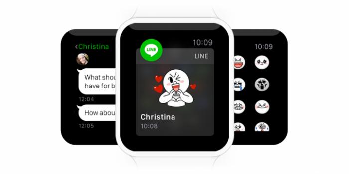 line apple watch