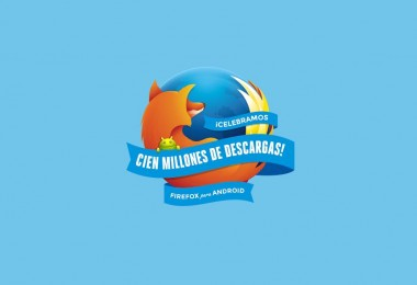 mozilla firefox android 100 millones