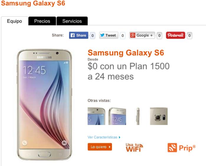 samsung Galaxy s6 nextel