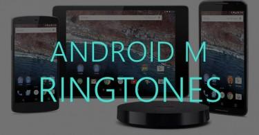 Android-M-ringtones