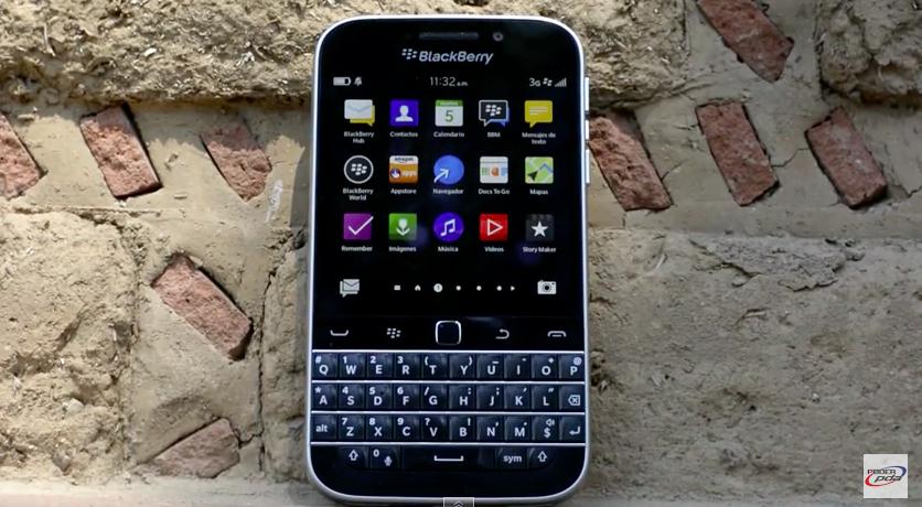 Blackberry classic analisis PoderPDA