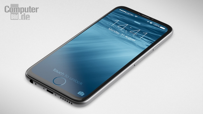 Render conceptual del iPhone 7 hecho por un diseñador alemán