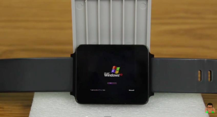 Smartwatch con Windows XP