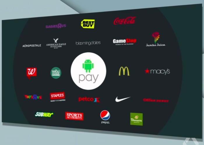 Android Pay esta listo para competir contra las plataformas de pago