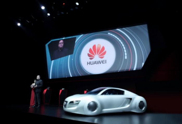 auto Huawei Audi 4g CESasia 2015