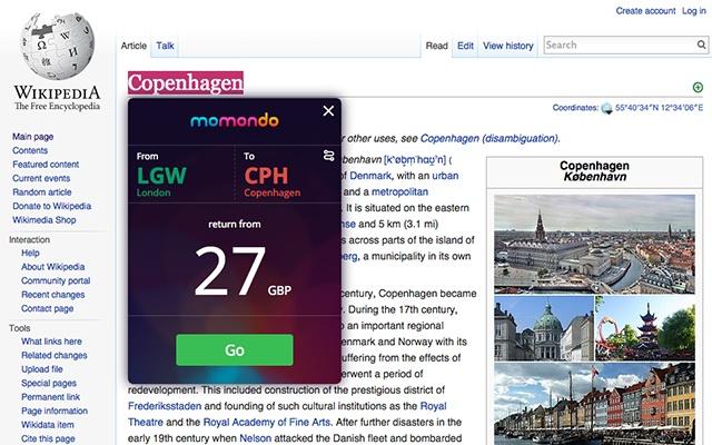 ejemplo click to travel