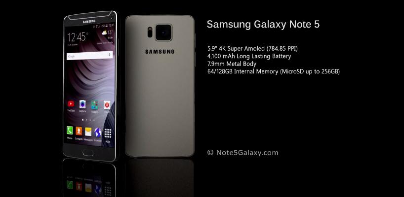 Así es como el diseñador Waseem Ullah Khan imagina la nueva phablet de Samsung