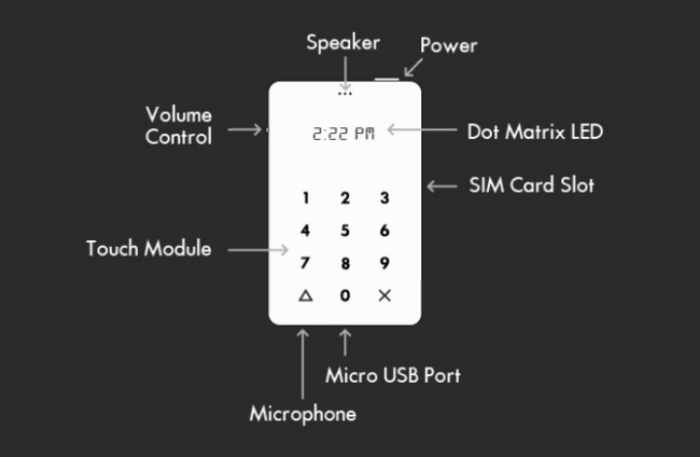 ligh phone caracteristicas
