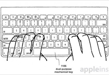 patente teclado apple