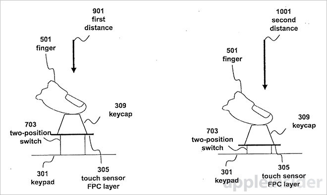 patente teclado apple2
