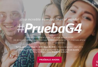 LG lanza su programa de prueba del G4 en México