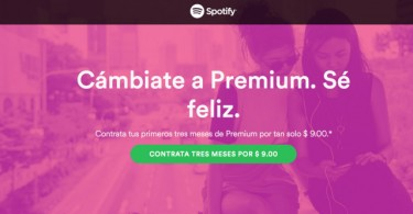 spotify 9 pesos
