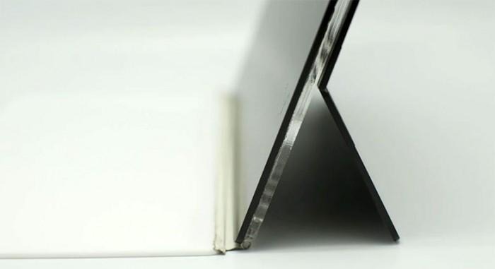 Detalle de la conexion con el keyboard en el prototipo de la Surface (Foto: Microsoft)