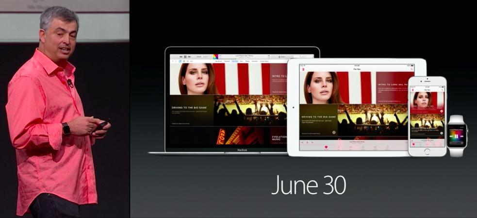 Apple Music disponibiidad