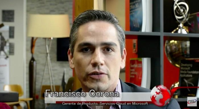 Francisco Corona, Microsoft Azure