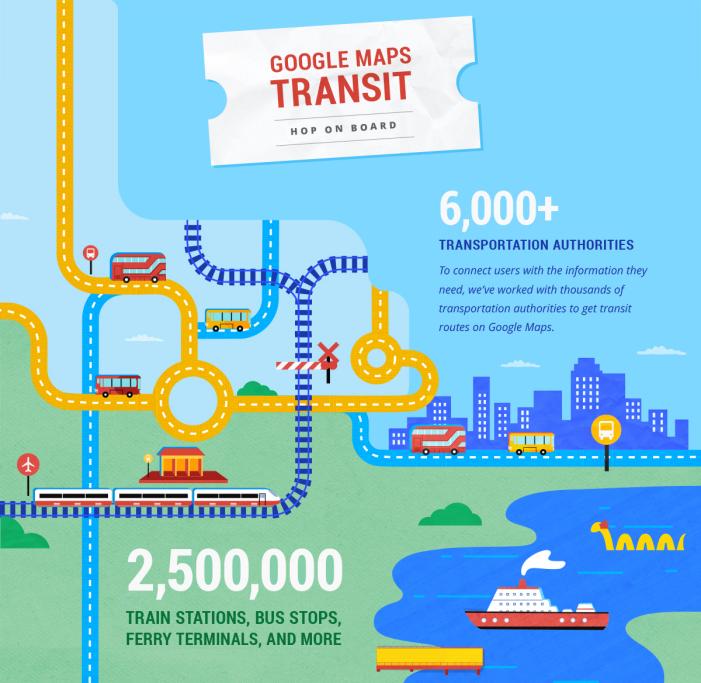 Google Maps Transit 3