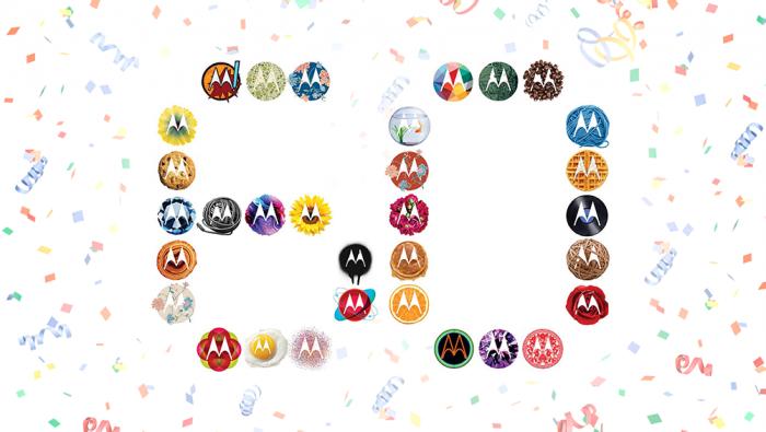 El logo de Motorola® cumple 60 años