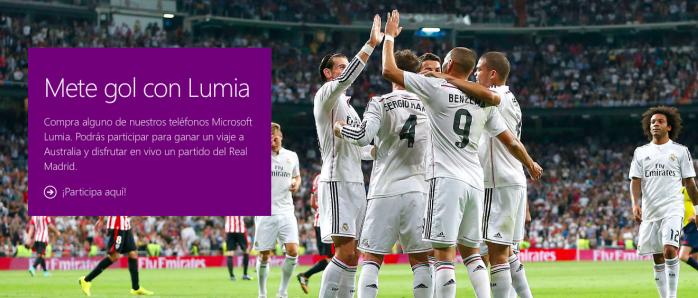 Promo Lumia Real Madrid Australia