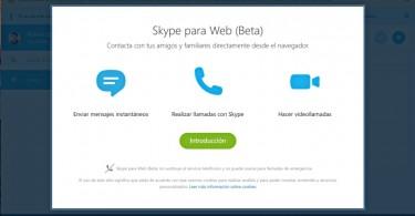 Skype para Web ya disponible en todo el mundo