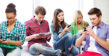 adolescentes smartphones