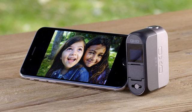 El DxO One se conecta a la llegada Lightning del iPhone