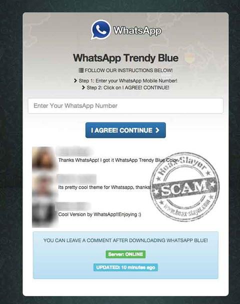whatsapp-trendy blue
