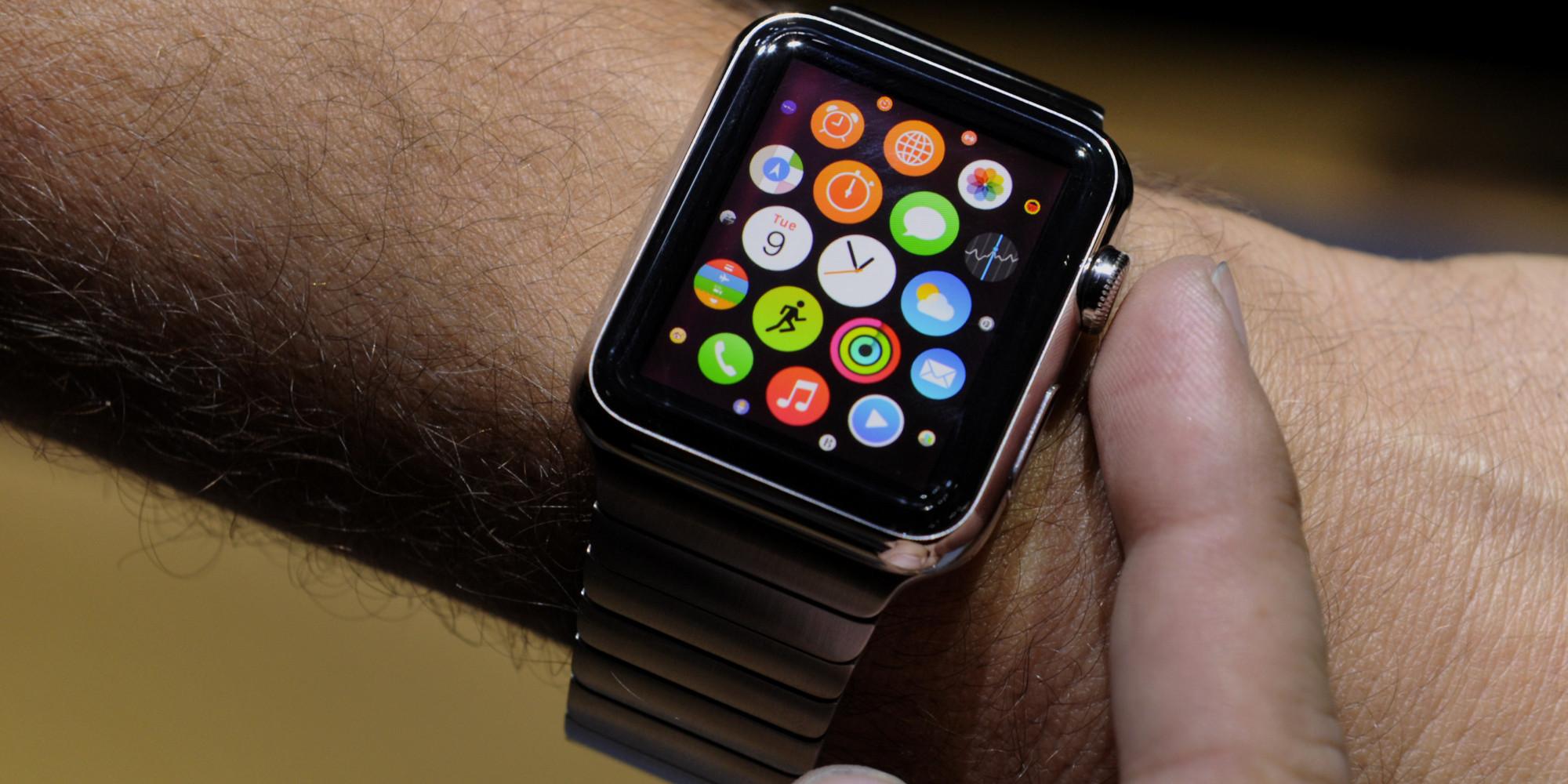 """Apple Watch incrementa ventas de categoria """"otros/accesorios"""" por  1000 mdd"""