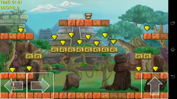 Cowboy Adventure logró más de 500,000 descargas en la Play Store