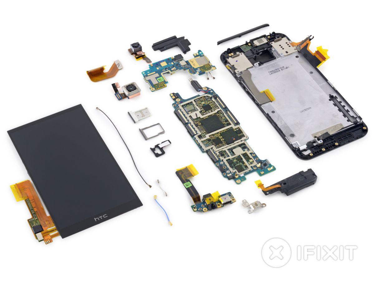 HTC One M9 Pre Analisis-hardware interior