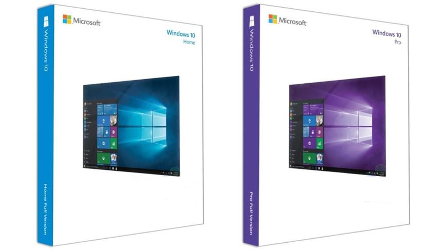 Microsoft Windows 10 cajas