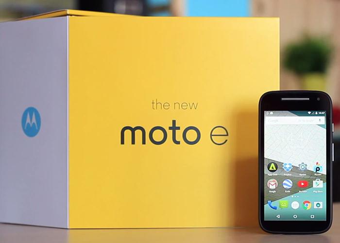 Moto E se vende a través la tienda en linea de Motorola, de este modo además con Nextel y Movistar